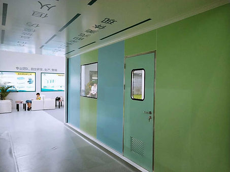 china clean room window supplier