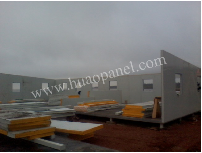 heat insulation eps wall panel construction