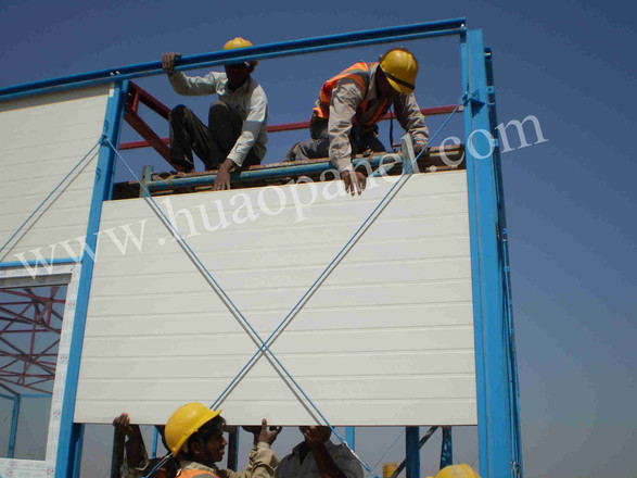 sandwich panel prefabricated house in India
