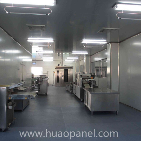 sandwich panel clean room for food process