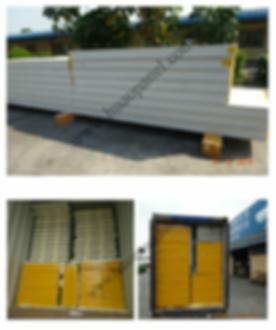 polyurethane-pu-sandwich-panel-shipment