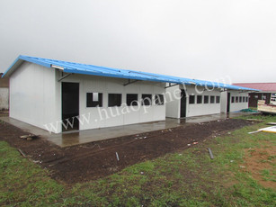 rock wool sandwich panel for classroom in south africa