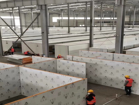 sandwich partition wall
