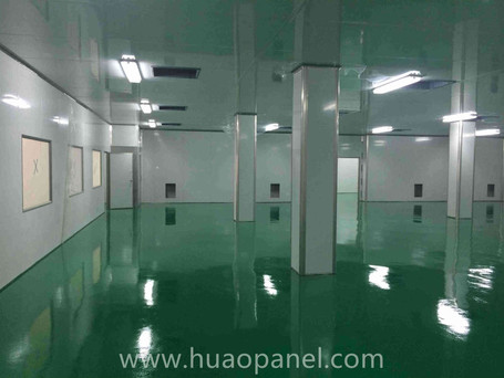 dust-free clean room for microelectronics workshop