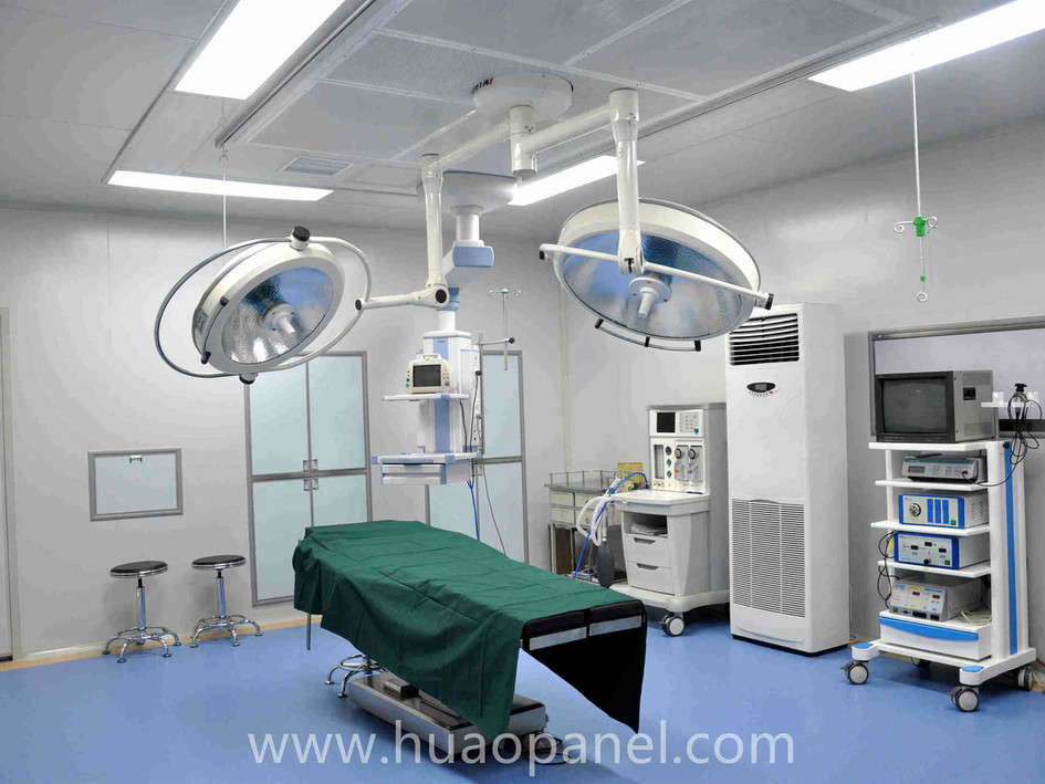 clean room for medical health center