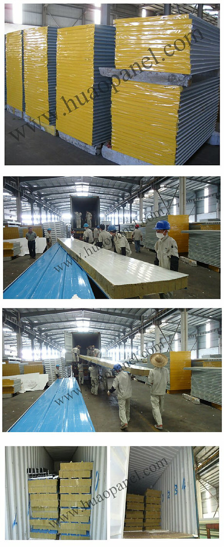 rock-wool-sandwich-panel-container-load