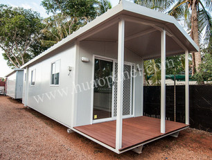 sandwich panel for holiday resort in PNG