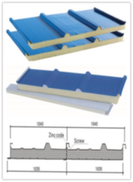 polyurethane-pu-roof-sandwich-panel