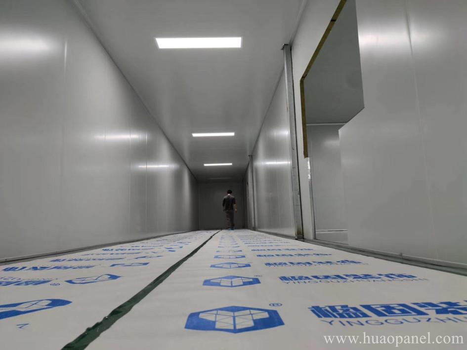 dust free clean room for face mask manufacturing