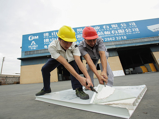 What are the quality problems you have encountered for sandwich panel ?