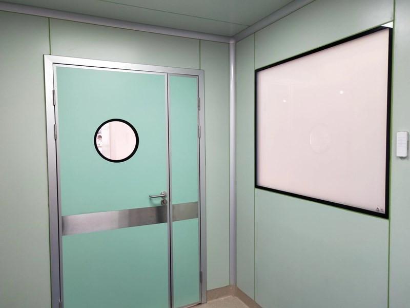 clean room doors and windows