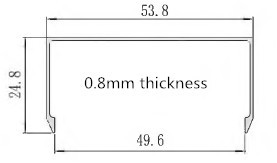 0.8mm u channel