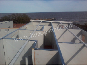 insulation metal panels for room partition