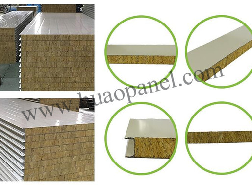 Characteristics of rock wool sandwich panel