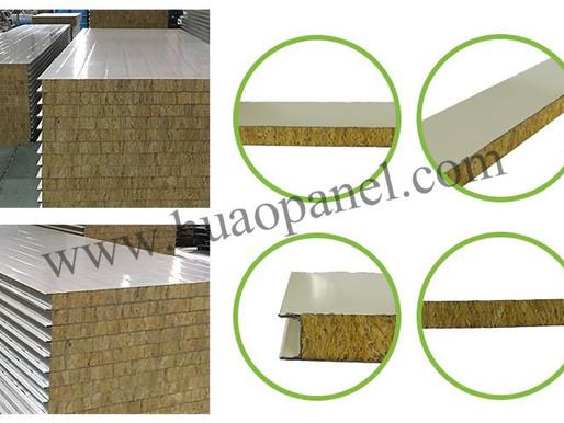Characteristics of rock wool sandwich panel