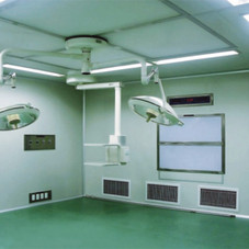 insulated wall panel for clean room hospital