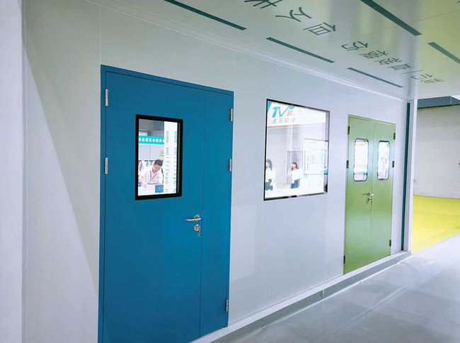 china clean room door manufacturer