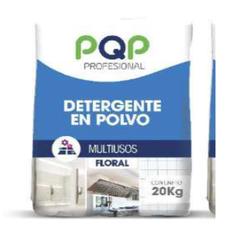Detergente en polvo PQP Sin aroma multiusos 20 KG