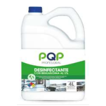 Desinfectante PQP Prof Biguanidina al 5% 4lt