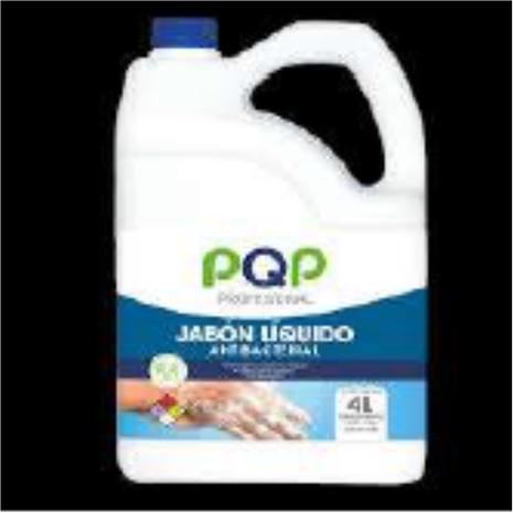 Jabón liq PQP Prof Antibacterial 4000 ml