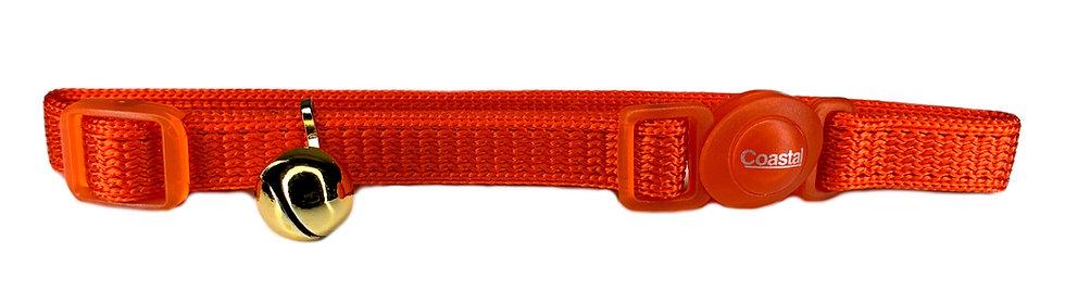 Cat Collar Quick Release - Orange