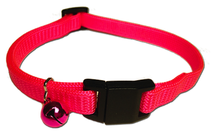 Cat Collar Quick Release - Pink