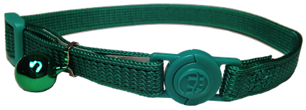Cat Collar Quick Release - Green