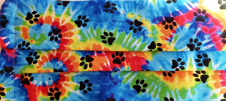 Tie Dyed Paws