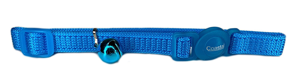 Cat Collar Quick Release - Light Blue