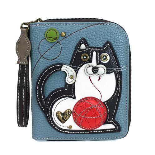 Zip Around Wallet - Fat Cat