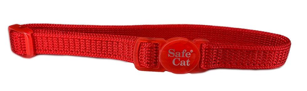 Cat Collar Quick Release - Red