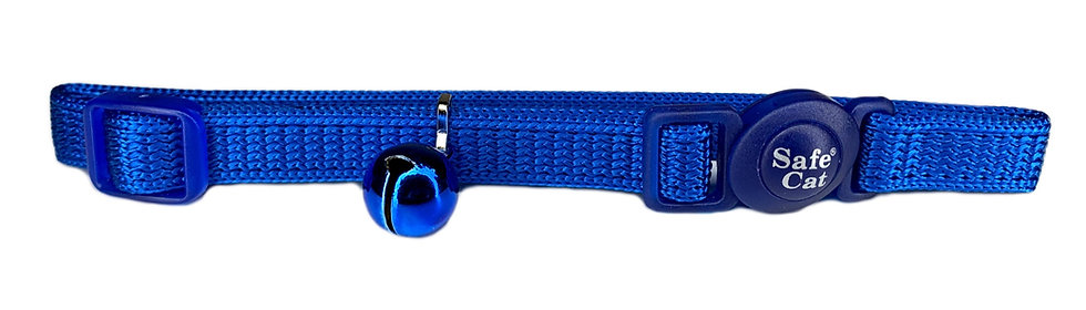 Cat Collar Quick Release - Blue