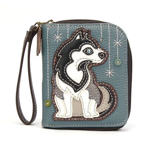 Zip Around Wallet - Husky
