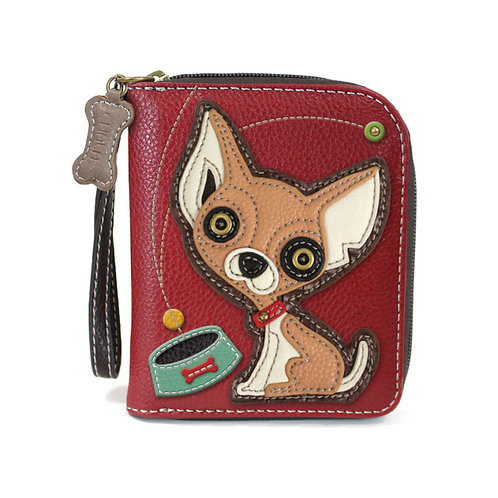 Zip Around Wallet - Chihuahua