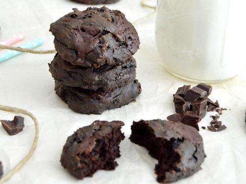 Cookies chocolat avocat