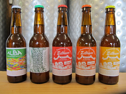"""Bières paysanes Bio """"La Bourdette"""""""