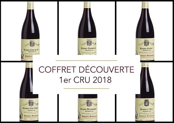 Coffret découverte Beaune 1er Cru 2018