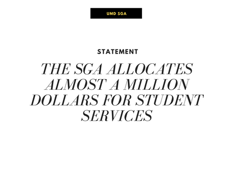 SGA Allocates Over $1 Million to Enhance Student Jobs and Services