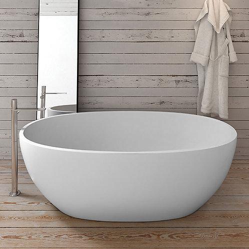 Bath tube mat finish