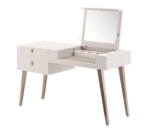 Dressing table + Stool - Coiffeuse & Pouf tapissé