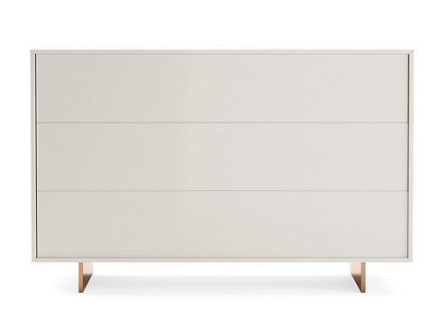 Chest of drawers - Commode laqué mate