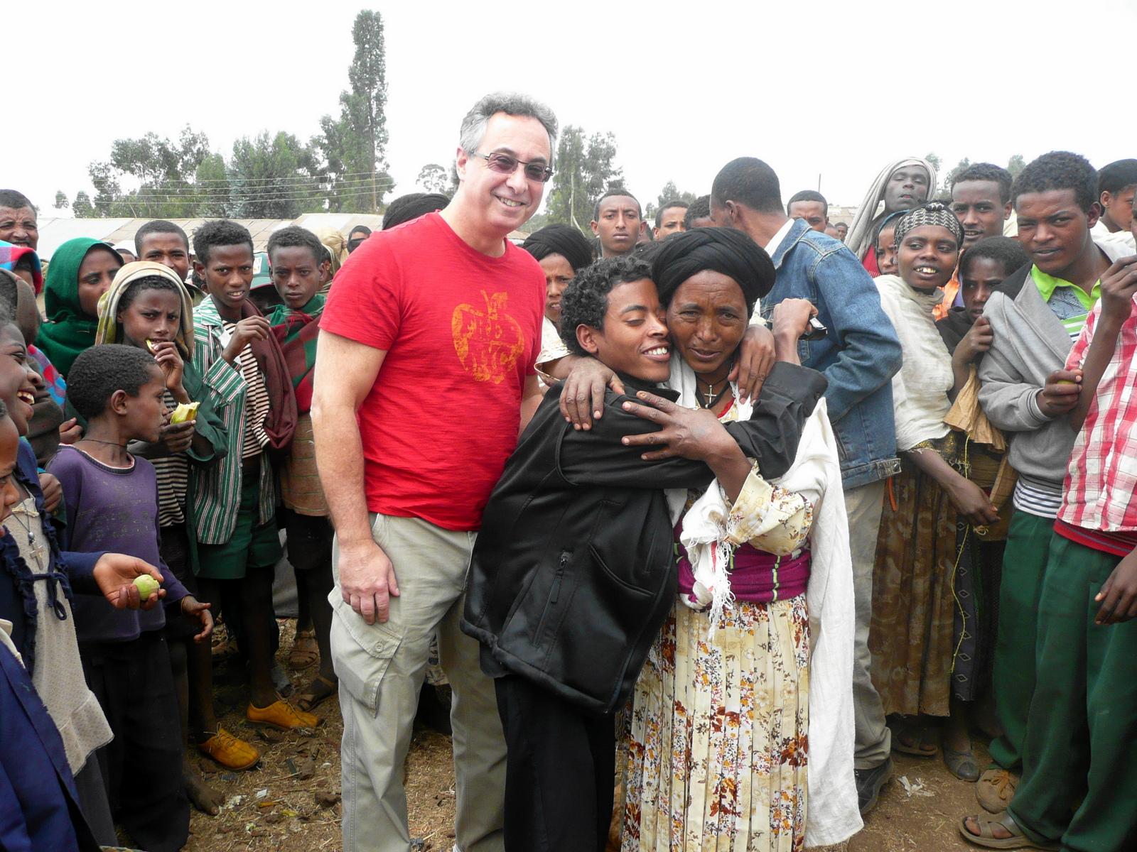 Tesfaye Reunited with Mother Yeshi