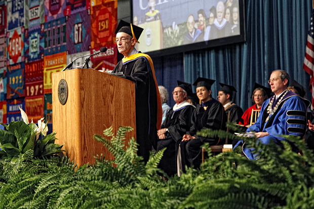 Dr. Rick Hodes Brandeis Doctorate