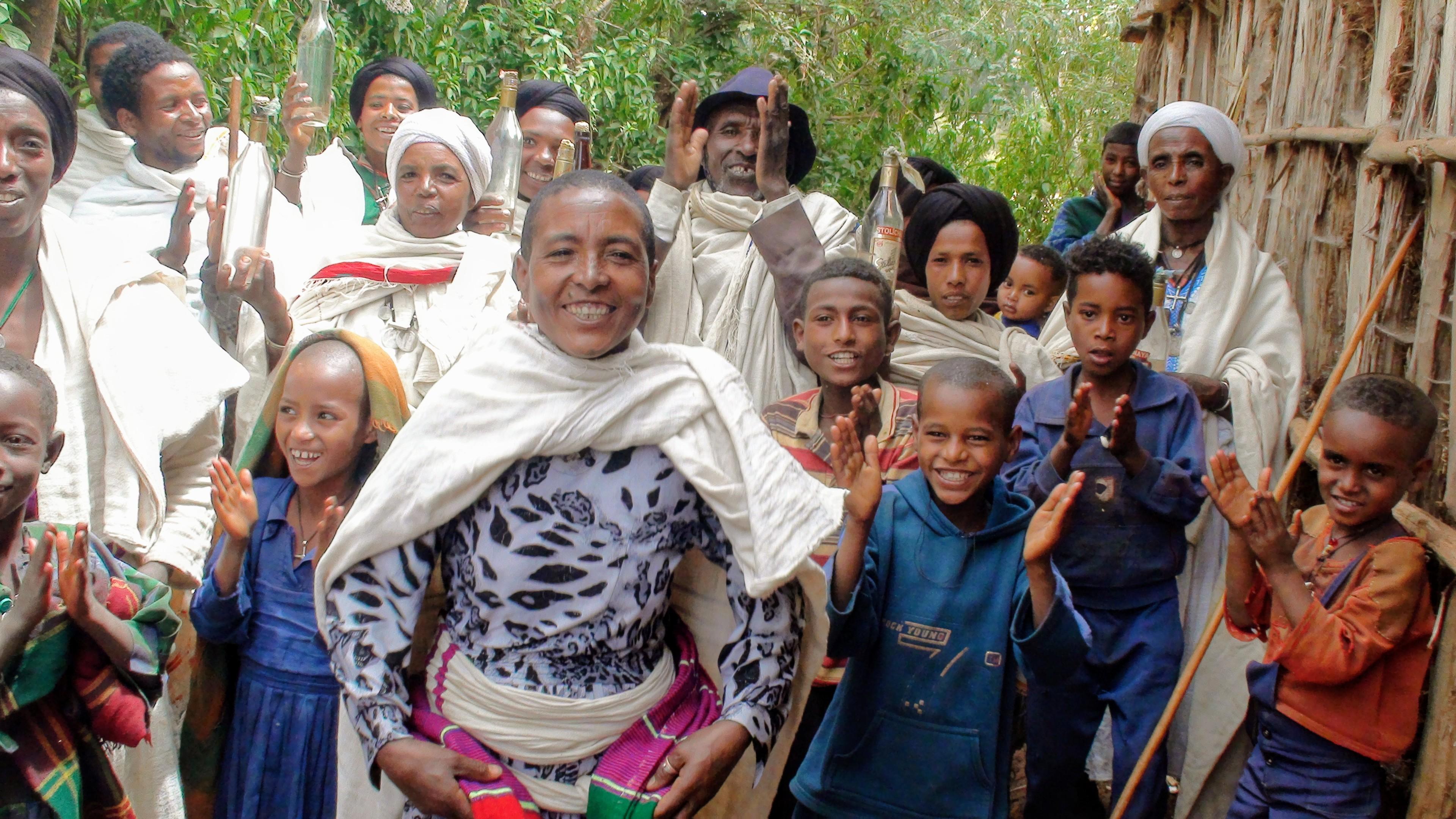 "Celebrating Tesfaye's ""rebirth"""
