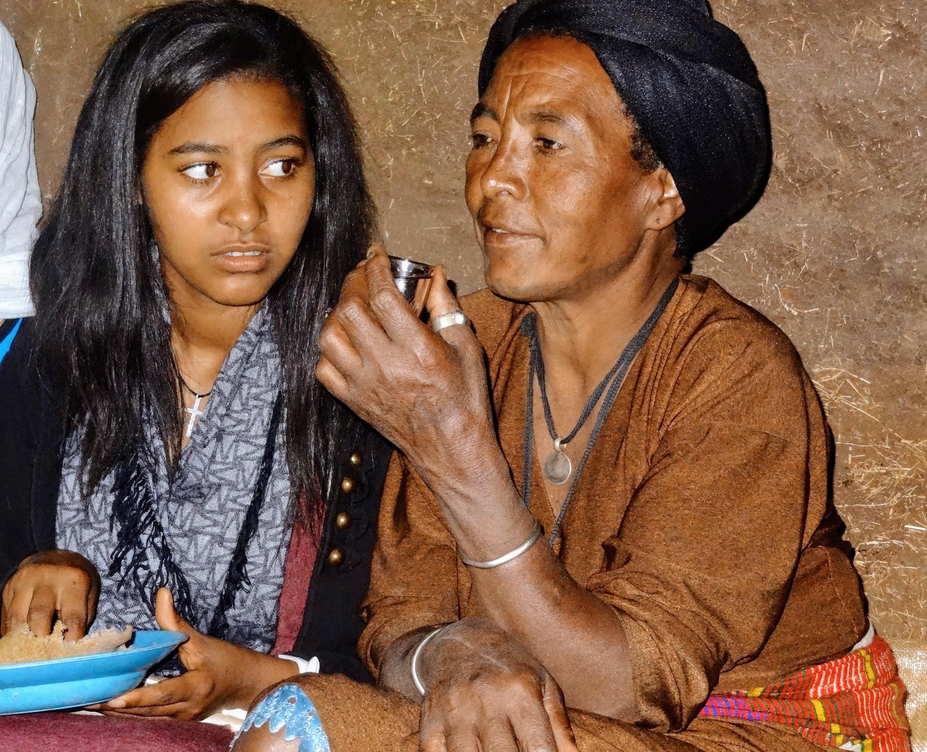 Fanteye and her mother Yeshi