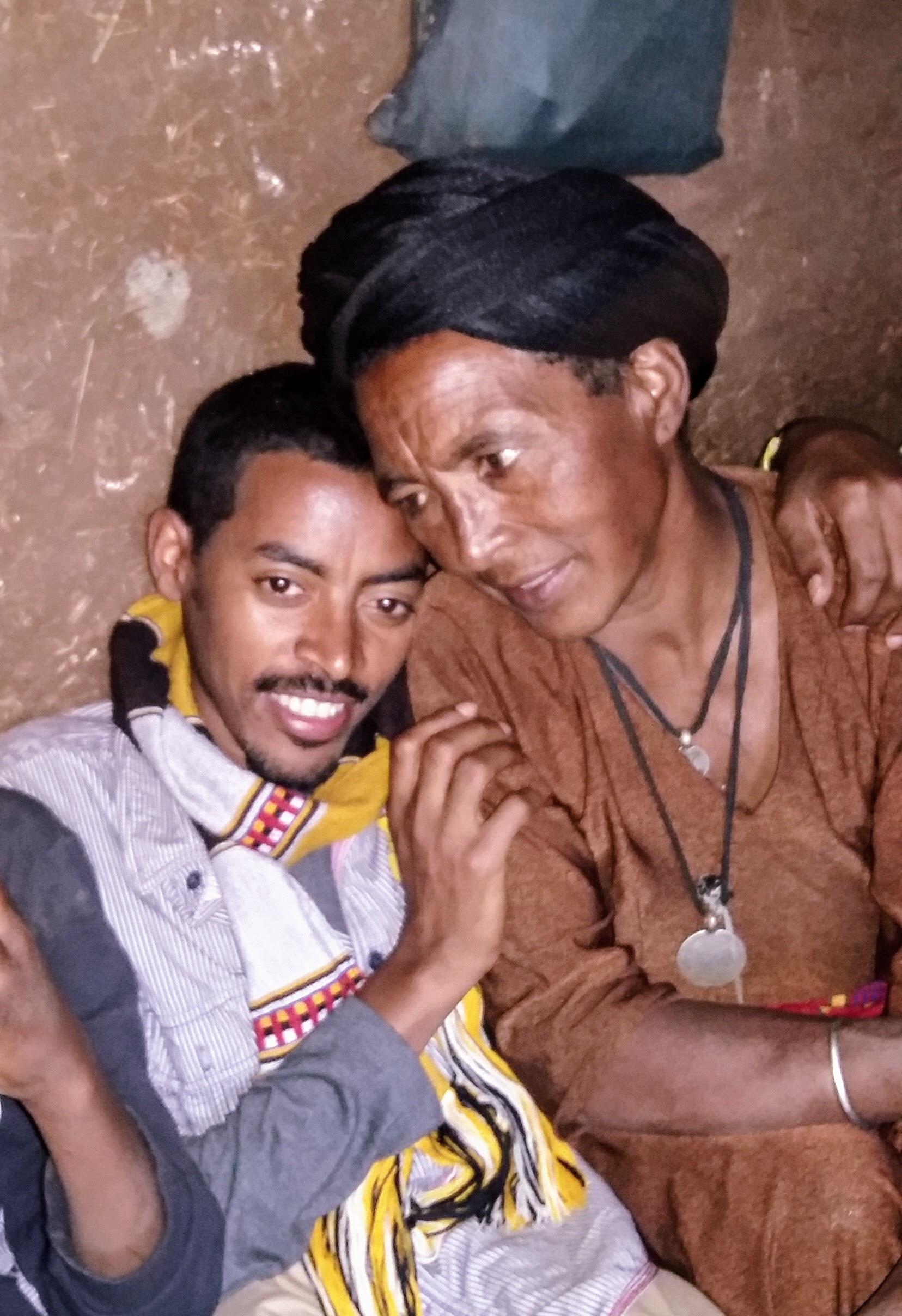 Tesfaye and mother Yeshi Nov. 2015