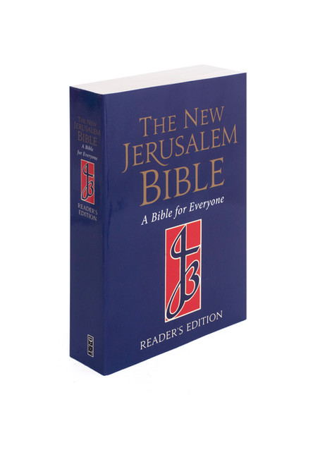 The New Jerusalem Bible  The NJB Pocket Series NJB Pocket Edition, White Cased Gift Bible  978-0-232-53159-6 £15.99 Hardback with Fine Binding 1472pp 146x101mm  This handy-sized Pocket Edition presents the New Jerusalem Bible in an easily accessible and manageable form suitable for everyone.   * Accurate, clear and modern * Beautiful gift format * Gold on white design * Page-edge gilding * Slipcase * Presentation page * Ribbon marker * Great price! * A Glossary, with verse references, explaining key terms and themes * A Chronological History, showing biblical events against contemporary world rulers and dynasties * An Index of Persons, with verse references * Brief Introductions to every book * Almost 200 Footnotes on key words and concepts  NJB White Leather Presentation Bible  978-0-232-52312-6 £24.99 Cased White Leather with Fine Binding 1472pp 146 x 101mm   This beautiful Pocket Edition presents the text in perfect gift format, suitable for any occasion, with a self-adhesive presentation plate, bound in white leather with gold blocking, gilt edges, white ribbon and stored in a slipcase.    It contains the full Bible, with special features to help you understand and navigate the text:   * A Glossary, with verse references, explaining key terms and themes * A Chronological History, showing biblical events against contemporary world rulers and dynasties * An Index of Persons, with verse references * Brief Introductions to every book * Almost 200 Footnotes on key words and concepts    NJB Pocket Edition Red Leather Bible  978-0-232-51892-4 £24.99 Cased Red Leather with Fine Binding 1472pp 146 x101mm    This handy-sized Pocket Edition presents the New Jerusalem Bible in an easily accessible and manageable form suitable for everyone.    It is bound in red leather, with gold blocking, head/tail bands, gold edges, rounded corners, coloured end papers and stored in a slipcase.    It contains the full Bible, with special features to help you understand and navigate the te