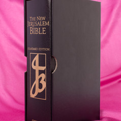 NJB Standard Edition Black Leather Bible