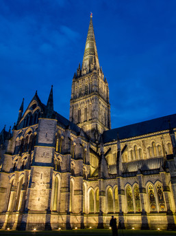 Salisbury Cathedral (copyright: Philip J. Richter)