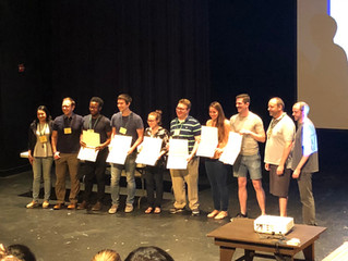 Congrats to Michael for Poster Prize at the Bioorganic GRC!